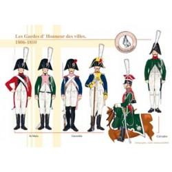 Die Ehrengarden der Städte, 1806-1810