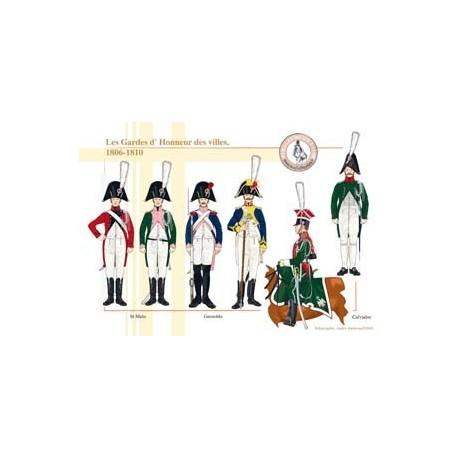 Les Gardes d'Honneur des villes, 1806-1810