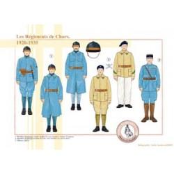 Les Régiments de Chars, 1920-1935