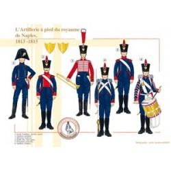 Die Fußartillerie des Königreichs Neapel, 1813-1815