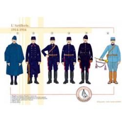 Französische Artillerie, 1914-1918