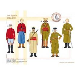 Les Spahis, 1914-1925