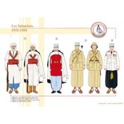 The Saharans, 1931-1950