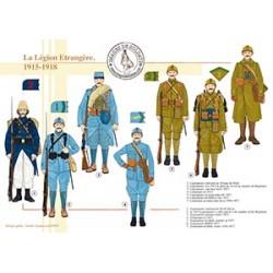 La Légion Etrangère, 1915-1918