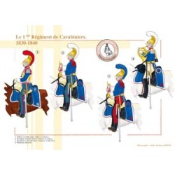 The 1st French Carabinieri Regiment, 1830-1840