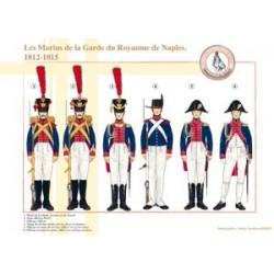 Die Matrosen der Garde des Königreichs Neapel, 1812-1815