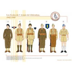 The Schools of the French Liberation Army, 1942-1945