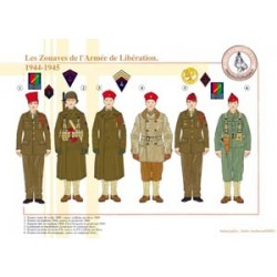 The Zouaves of the Liberation Army, 1944-1945