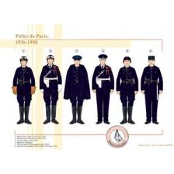 Paris police, 1936-1950