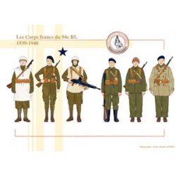 The Free Corps of the 94th RI, 1939-1940