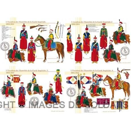 L'Escadron des Mameluks de la Garde Impériale, 1804-1815