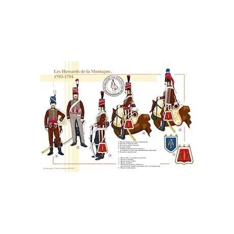Les Hussards de la Montagne, 1793-1794