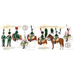 Le 7ème régiment de Chasseurs à cheval, 1806-1812