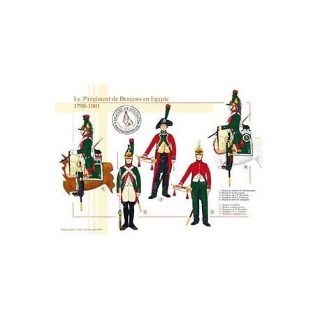 Le 3ème régiment de Dragons en Egypte, 1798-1801