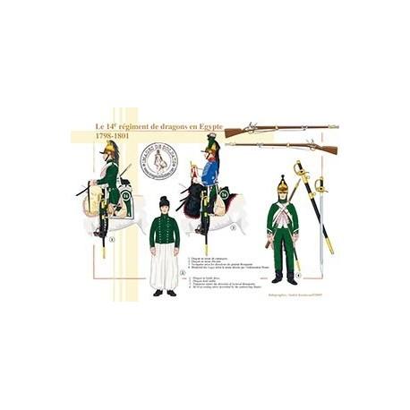 Le 14ème régiment de dragons en Egypte, 1798-1801