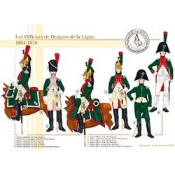Les Officiers de Dragons de la Ligne, 1804-1810