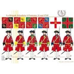 La Brigade Irlandaise à Fontenoy, 11 mai 1745