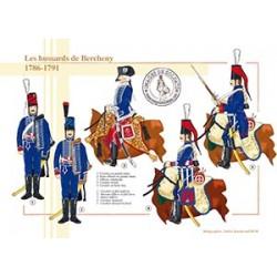 Les hussards de Bercheny 1786-1791