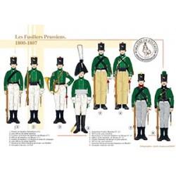 Les Fusiliers Prussiens, 1800-1807