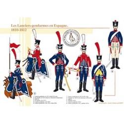 Les Lanciers-gendarmes en Espagne, 1810-1812