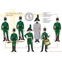Les Chasseurs à Pied, 1804-1811