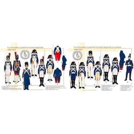 Le Grenadier à Pied de la Garde Impériale, 1804-1812