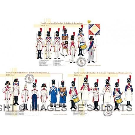 Les Grenadiers Hollandais de la Garde Impériale, 1809-1813