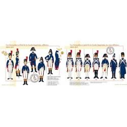 Les Grenadiers à Pied de la Garde Impériale, officiers et sous-officiers, 1804-1815