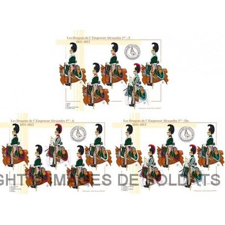 Les Dragons de l'Empereur Alexandre Ier, 1811-1813 (2/2)