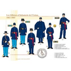 Les Officiers d'Infanterie de l'Union, 1861-1865