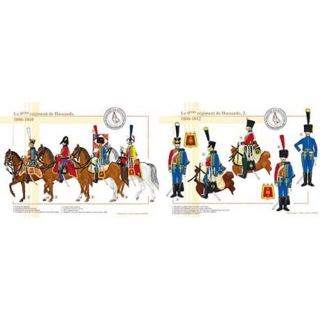 Le 9ème régiment de Hussards, 1806-1812