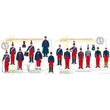 Le Train des équipages de la Garde Impériale, 1855-1870