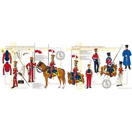 Le 2ème Chevau-Légers de la Garde, 1810-1815