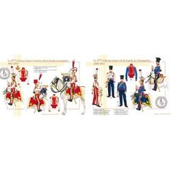 Le 2ème Chevau-Légers de la Garde, les Trompettes, 1810-1815