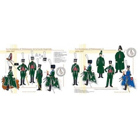 Les Gendarmes d'ordonnance de la Garde Impériale, 1806-1807