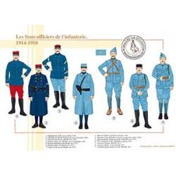 Les sous-officiers de l'infanterie, 1914-1918