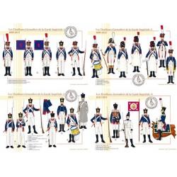 Les Tirailleurs-Grenadiers de la Garde Impériale, 1809-1815