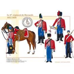 Le 4ème régiment de Hussards, 1852-1858