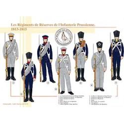 Les Régiments de Réserves de l'Infanterie Prussienne, 1813-1815