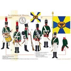 Le régiment de Moscou, 1807