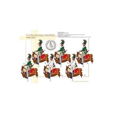 Les Chevau-Légers Autrichiens, 1809-1814