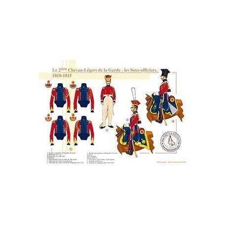 Le 2ème Chevau-Légers de la Garde, les sous-officiers, 1810-1815
