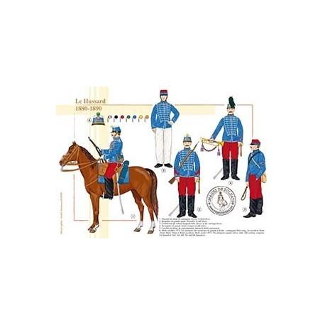Le Hussard, 1880-1890