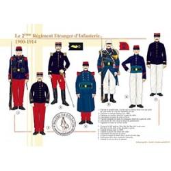 Le 2e Régiment Etranger d'Infanterie, 1900-1914