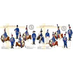 Le 1er régiment de Hussards, 1792-1803