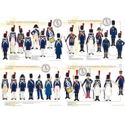 L'Artillerie à pied de la Garde Impériale, 1810-1815