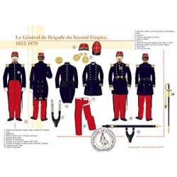 Le Général de Brigade du Second Empire, 1852-1870
