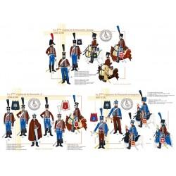 Le 2ème régiment de Hussards, 1806-1812
