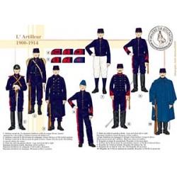 L'Artilleur, 1900-1914
