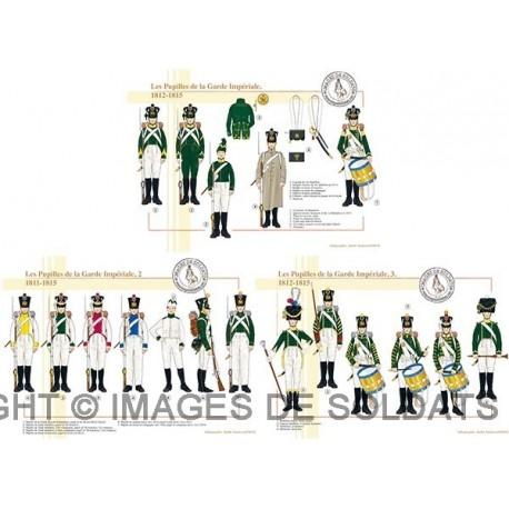 Les Pupilles de la Garde Impériale, 1811-1815